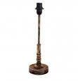 Основа для настолькой лампы 1+1 VINTAGE, 1X40W (E14), ?95, H360, сталь, дерево, медный