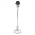 Основа для настольной лампы BEDWORTH, 1x60W (E27), 110х85, H360,  литой алюминий, никель