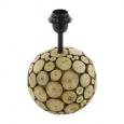Основа для настольной лампы RIBADEO,  1x60W (E27), ?175, H385, дерево, коричневый