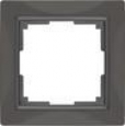 Рамка на 1 пост WL03-Frame-01 Basic Серо–коричневый