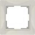 Рамка на 1 пост WL03-Frame-01 Basic Слоновая кость