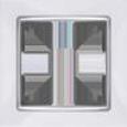 Рамка на 1 пост WL03-Frame-01 Белый