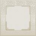 Рамка на 1 пост WL05-Frame-01 Слоновая кость