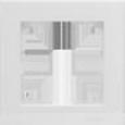 Рамка на 1 пост WL04-Frame-01 Белый