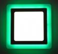 Светильник с зеленой подсветкой luxwel 1*12+4W LED