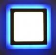 Светильник с синей подсветкой luxwel 1*12+4W LED