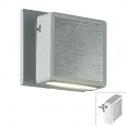 Светильник-ночник (в розетку) с выкл IP20  6LEDx0.2W 220V NIGHT LIGHT 357319 NT16 100 белый/алюминий