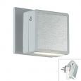 Светильник-ночник (в розетку) с выкл IP20  6LEDx0.2W 220V NIGHT LIGHT 357320 NT16 100 белый/алюминий