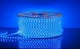 Светодиодная лента3528/60 LED 4.4W 220V IP65 синий свет
