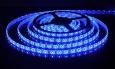Светодиодная лента3528/60 LED 4.8W IP65 [белая подложка] синий свет