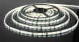 Светодиодная лента3528/60 LED 4.8W IP65 [белая подложка] белый свет