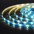Светодиодная лента5050/30 LED 7,2 W IP65 синий свет