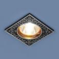 Точечный светильник120071 MR16 BK/SL черный/серебро