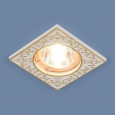 Точечный светильник120071 MR16 WH/GD белый/золото