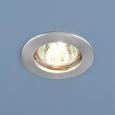 Точечный светильник863 MR16 SCH хром сатинированный