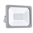 Уличный светодиодный светильник настенный FAEDO 1, 30W (LED), 205х155, IP65, алюминий, серебряный/стекло