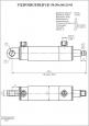 Гидроцилиндр ЦГ-50.30х160.23-01