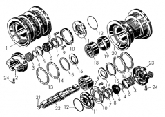 Катки однобортные и двубортные Т-170 24-21-169170