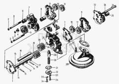 Масляный насос комплект 29-09-124СП Т-130