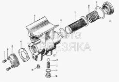 Фильтр масла к турбонагнетателю комплект 16-09-130СП Т-130