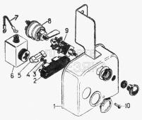 Щиток (из комплекта ПЖБ-400Б 1015008М) Т-130