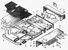 Площадка 24-24-5СП, 20-24-4СП1 Т-130