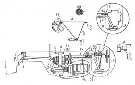 Установка маслозакачивающего насоса Т-170