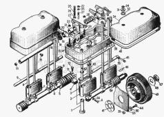 Механизм газораспределения 16-04-08СП Т-130