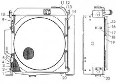 Радиатор Т-170