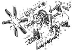 Установка вентилятора Т-170