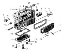 Блок топливного насоса Т-170