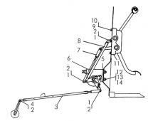 Управление топливным насосом Т-170