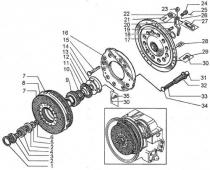 Муфта сцепления ДЗ-98