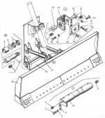 Оборудование бульдозерное