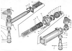 Цилиндр гидравлического усилителя руля