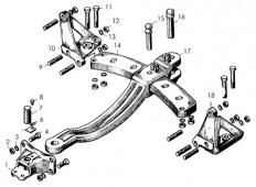 Прицепное устройство маятникового типа Т-170