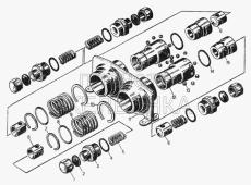 Муфты разрывные комплект 26-26-120СП Т-130
