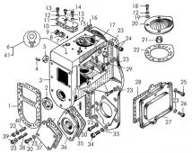 Корпус регулятора Т-170