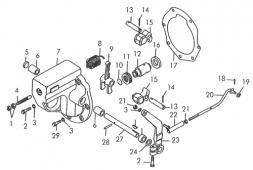 Регулятор пускового двигателя Т-170