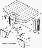 Панели и уплотнения Т-170