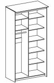 Шкаф Купе TOP LINE  ШКТ-12.6.24 размер 1200*600*2400