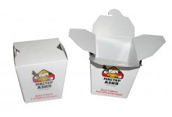 Коробка под китайскую еду 80х80x110