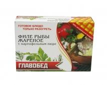Коробка для продуктов глубокой заморозки «Вторые блюда»
