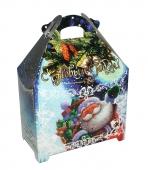 Коробка для новогоднего подарка «Дед Мороз и вьюга»