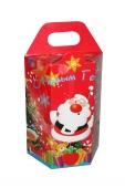 Коробка для новогоднего подарка «Дед Мороз с подарками»