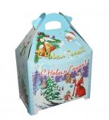 Коробка для новогоднего подарка «Герои мультфильмов»