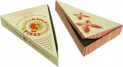Коробка для пиццы треугольная