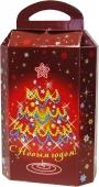 Коробка для новогоднего подарка «Новогодняя фантазия»
