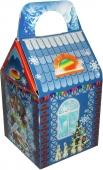 Коробка для новогоднего подарка «Теремок»