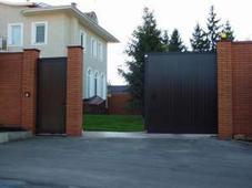 Въездные ворота. Челябинск